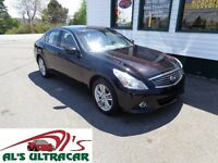 2011 Infiniti G25 Sedan Luxury(REDUCED!) only $165 bi-weekly!