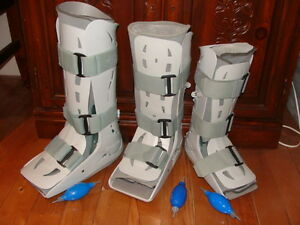 3 AIRCAST BOOTS