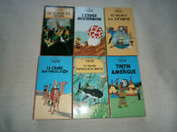 lot vhs films Tintin
