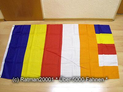 Fahnen Flagge Buddhist World - 90 x 150 cm