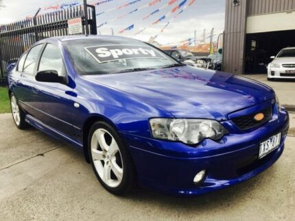 2005 Ford Falcon BA MkII XR6 4 Speed Auto Seq Sportshift Sedan Brooklyn Brimbank Area Preview