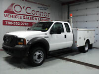 2005 Ford F450 Mechanics Truck 2X4 107000kms $15500
