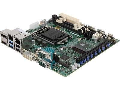 SUPERMICRO MBD-X10SLV-Q-O Mini ITX Server Motherboard LGA 1150 Intel Q87 DDR3 16