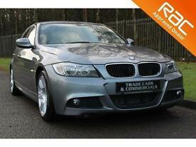 2010 60 BMW 3 SERIES 2.0 320D M SPORT 4D AUTO 181 BHP DIESEL