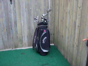 Ladies RH Callaway golf set & Men's RH Callaway golf sets
