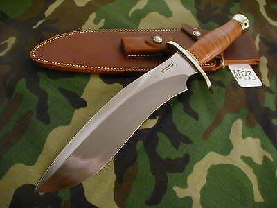 "RANDALL KNIFE KNIVES #12-11""LG.SASQUATCH,#782,BDFCH,BL.-B.S,LEATHER,BB,WT #A1933"
