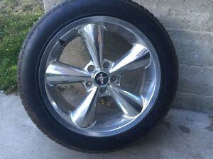 Mustang OEM Rims And Tires