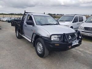 2008 Mitsubishi Triton ML MY09 GLX (4x4) Silver 5 Speed Manual 4x4 Cab Chassis Officer Cardinia Area Preview