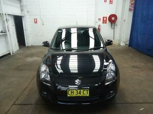 2010 Suzuki Swift EZ MY07 Update RE.4 Black 5 Speed Manual Hatchback Cardiff Lake Macquarie Area Preview