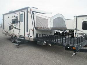 2016 Rockwood Roo 21SSL with front deck travel trailer