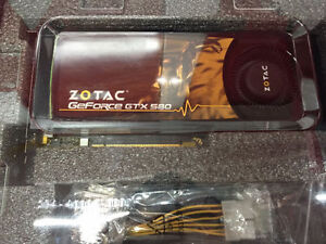 New Zotac GEForce GTX 580 (2 available)