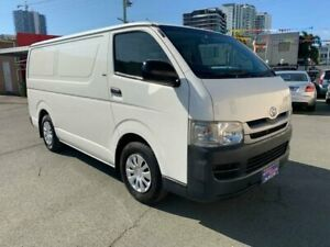 2008 Toyota HiAce TRH201R MY07 Upgrade LWB White 5 Speed Manual Van Southport Gold Coast City Preview