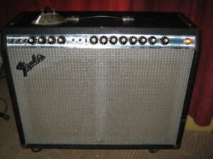 Cleanest Fender 1973 amp EVER