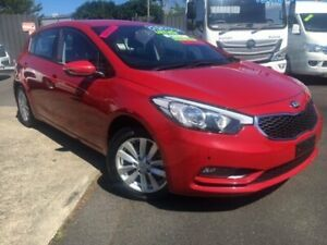 2015 Kia Cerato YD MY15 S Premium Red 6 Speed Sports Automatic Hatchback Bungalow Cairns City Preview