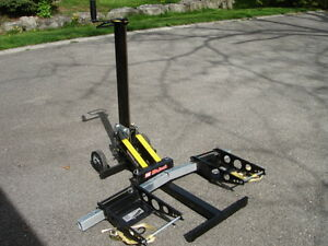 MoJack XT Riding Lawn Mower Lift