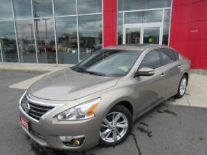 2013 NISSAN ALTIMA 2.5 SL PKG LEATHER H-SEATS SUNROOF CAMERA BOS
