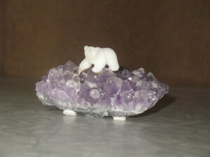 Polar Bear on Crystal