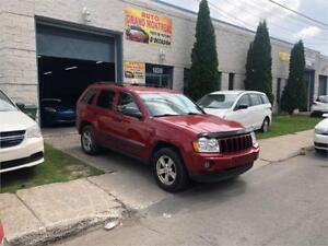 2006 JEEP GRAND CHEROKEE 4X4 (6 CYLINDRE) TOUTE EQUIPEE T.PROPRE