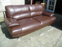 Three & Two Leather Suite