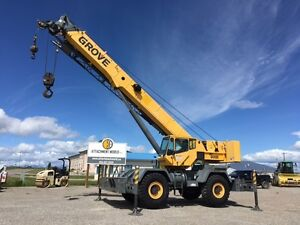 Grove RT650E 50 Ton Rough Terrain Crane for sale! ONLY 4,299 hrs