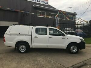 2012 Toyota Hilux TGN16R MY12 Workmate 4 Speed Automatic Dual Cab Pick-up Brooklyn Brimbank Area Preview