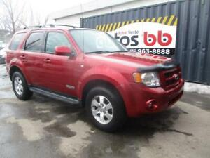2008 Ford Escape LIMITED (CUIR - TOIT - 4x4)