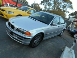 2001 BMW 318I E46 1.8 L 4 DOOR SEDAN AUTOMATIC Silver Automatic Sedan