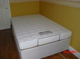New & Unused 4ft Double Bed & Mattress- Adjustable & Fully Profiling