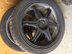 VW tire and rims