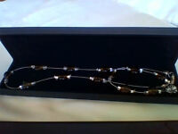 NEW, unworn ladies bracelet and necklace set