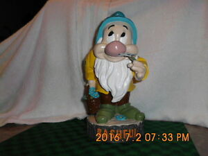 Disney Bashful ( seven dwarfs)- refurbished/repainted