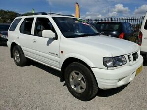 2000 Holden Frontera MX SE Wagon 5dr Auto 4sp 4x4 3.2i White Automatic Wagon