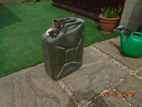 Metal Jerry Can