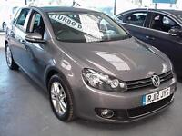 2012 VOLKSWAGEN GOLF 2.0 TDi 140 BlueMotion Tech GT FULL LEATHER+SAT NAV