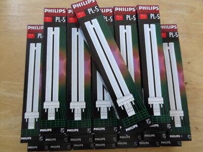 10 Stück Philips PL-S 11W 840 2G7 Dulux-S//E 11W