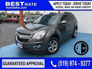 CHEVY EQUINOX - APPROVED IN 30 MINUTES! - ANY CREDIT LOANS