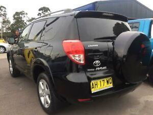 2006 Toyota RAV4 ACA33R CV Black 5 Speed Manual Wagon Sandgate Newcastle Area Preview