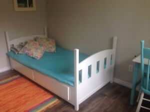 2 Drawer Single Bed for Sale