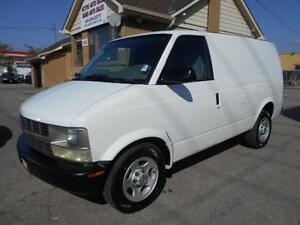 2005 CHEVROLET Astro Cargo Van 4.3L V6 A/C ONLY 87,000KMs