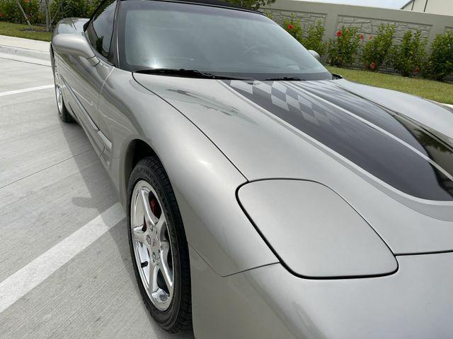 2002 PEWTER MATALIC Chevrolet Corvette Convertible    C5 Corvette Photo 4