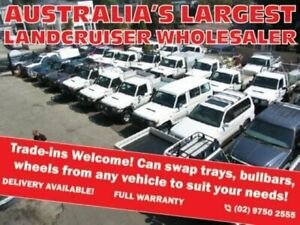 2010 Toyota Landcruiser VDJ79R 09 Upgrade GX (4x4) White 5 Speed Manual Cab Chassis Roselands Canterbury Area Preview