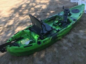 Riot pedal drive Mako 10 ft kayaks- last 2 in blue
