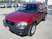 2005 Ford Escape XLT 4X4 CERTIFIED & E-TESTED