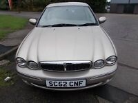 JAGUAR X TYPE 2.1 V6 MANUAL SALOON 52 REG (FULL SERVICE HISTORY) MOT JUNE 2017