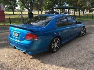 2003 Ford Falcon BA XR6 Blue 4 Speed Auto Seq Sportshift Sedan Coonamble Coonamble Area Preview