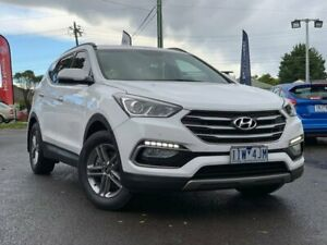 2016 Hyundai Santa Fe White Sports Automatic Wagon Hoppers Crossing Wyndham Area Preview
