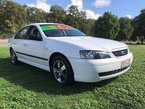 2004 Ford Falcon BA MkII XT White 4 Speed Auto Seq Sportshift Sedan Clontarf Redcliffe Area Preview
