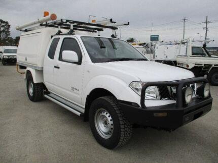2013 Nissan Navara White Automatic Cab Chassis Pakenham Cardinia Area Preview