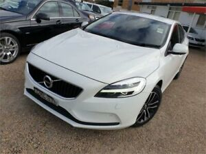 2017 Volvo V40 M Series MY17 T3 Adap Geartronic Momentum White 6 Speed Sports Automatic Hatchback Sylvania Sutherland Area Preview