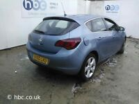 VAUXHALL ASTRA J PETROL 2012 BREAKING FOR SPARES TEL 07814971951 HAVE FEW IN STOCK